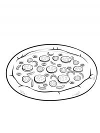 Kolorowanka Pizza