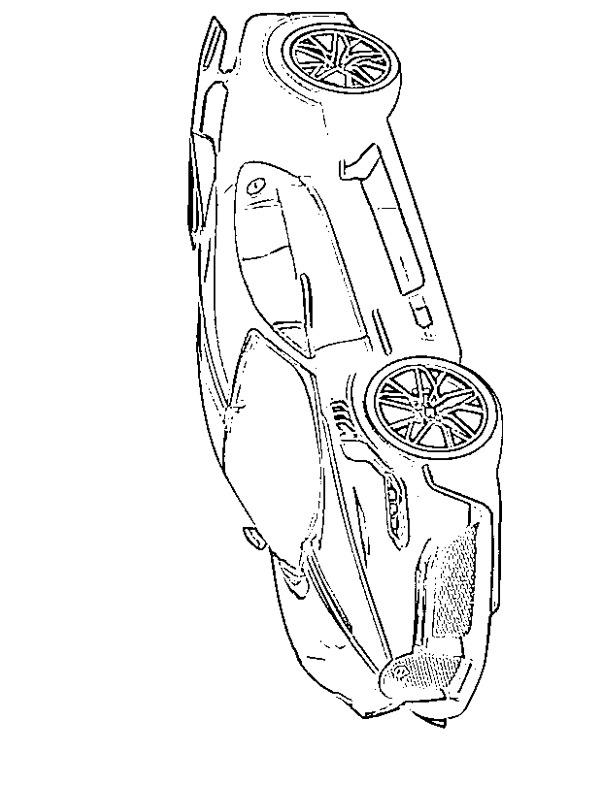 Dibujos Para Colorear Bugatti Divo Dibujosparaimprimir Es