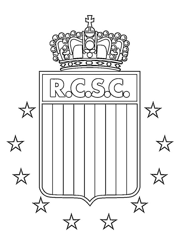 para colorear Royal Charleroi Sporting Club